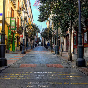 Calle Cervantes, Madrid